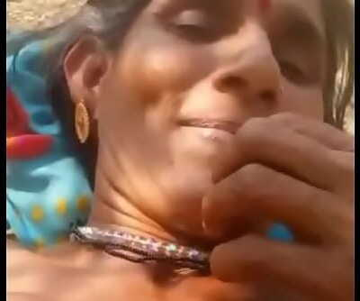 Desi village aunty peeing and screwing 3 min