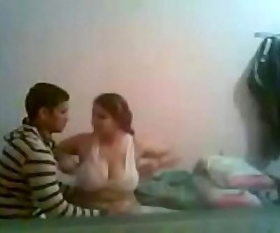 indian bhabhi having lovemaking with her young beau 10 min