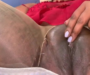 Chubby Indian Sapphic Babe Leisurely Plays with her Pussy..