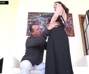 Indian Mother undresses off her Saree and Petticoat to get..