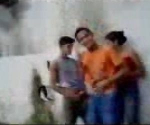 Fsiblog - Desi college students outdoor joy MMS - Indian..