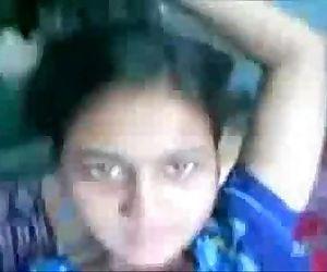 Desi girl finger-tickling herself tharkicam.net - 15 min