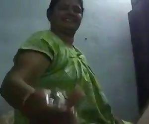 Indian Chilakaluripeta Aunty Deep-throat Oily Dick Her Hubby