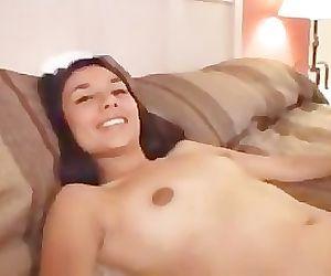 Indian jazmin enjoyd white cock