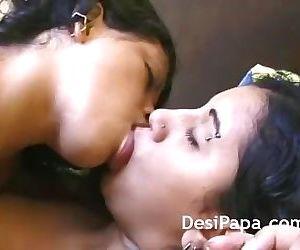 Indian Girls Passionate Smooching