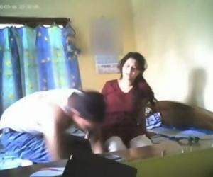 Adorable Indian GF fucking on hidden cam