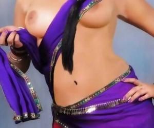My buddies Molten Indian Mother - Hindi audio messy sex..