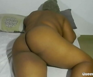 BBW WITH Thick Pleasure button GOT Tart's BY A STRANGER..
