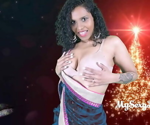 Wild Lily Christmas Hookup With Fresh Yr Indian Porno..