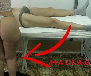 Maid Massagist with Fat Butt let me Raise her Dress &..