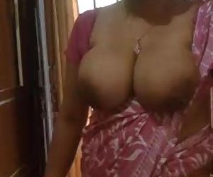 Indian Milf have big Juicy boobs