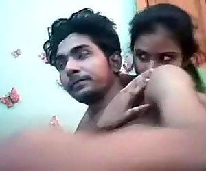 Desi Indian Young Lovers Full..