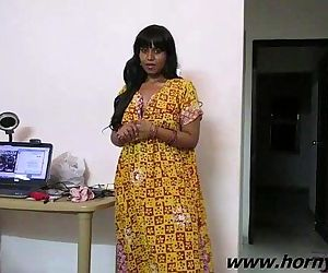 Indian Babe Lily Sexy Interview -..