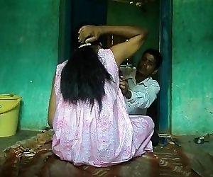 shaving villager..