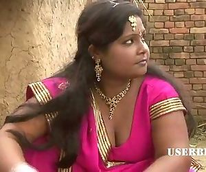 Village Bhabhi Seducing her Devar..