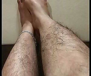 Indian feets hairy..