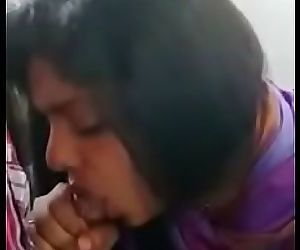 Cute Indian Blowing job 89 sec