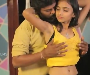 Hot Indian Desi Teen Girl Romance..