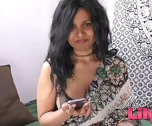 Horny Lily Indian Bhabhi Dewar Dirty Sex Chat Role Play - 7 min HD