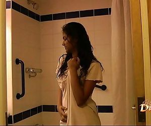 Indian pornstar babe divya seducing her fans with her sex in shower - 2 min