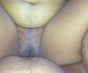 Indian spread pussy fucked and cream pied