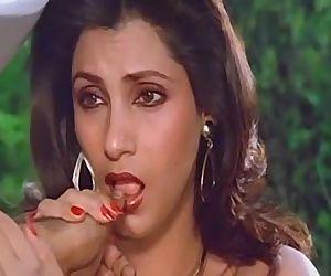 Sexy Indian Actress Dimple Kapadia Sucking Thumb lustfully Like Cock - 40 sec