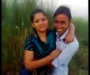 Indian desi college student kissing outdoor mms.MOV - 1 min 9 sec