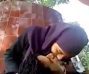 Bangladesi beautiful girl in Public Park Outdoor - 2 min