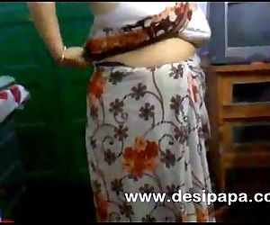 mature indian bhabhi changing in bedroom big boobs exposed - 2 min