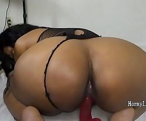 Indian girl Armpit Licking and riding dildo - 10 min