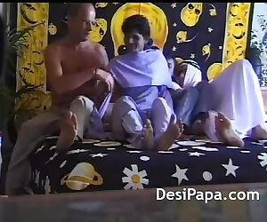 Arab Sheikh Fucking Young Indian Girl In Group Sex