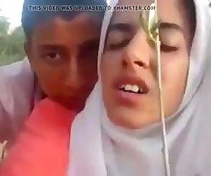 Desi judva bhai bahan Latif Ltifa doggy outdoor hijab muslim