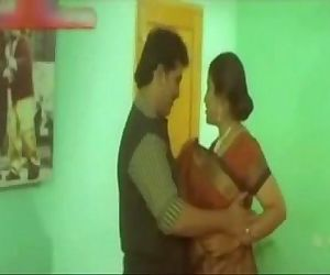 hot indian celebrity romance with director in hotel room - 3 min
