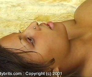 Chaz Big Tit Nude in Garden - 5 min