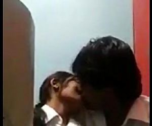 desi COLLEGE Students Kissing & Rubbing in Internet Cafe - 2 min