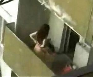 Couple enjoying sex on Terrace recorded with hidden cam - 7 min