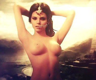 Kamasutra 3D - Photo Shoot Nude Video with Sherlyn Chopra - 1 min 4 sec