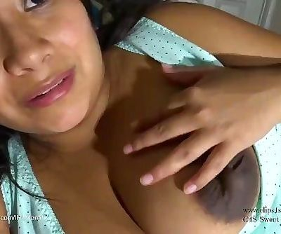 Son suckles,fucks & Cums to mommy riding his virgin cock.