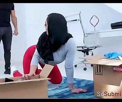 I, declare myself to be HIJAB SLAVE of my SEX ADDICT brother! 8 min
