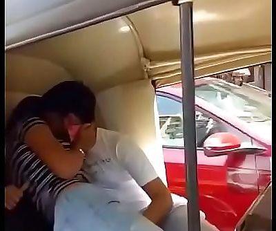 Indian Teen in Auto 27 sec