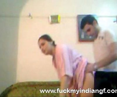 Indian Couple Try Anal Sex - 5 min