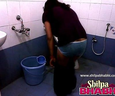 Indian Housewife Shilpa Bhabhi Hot Shower - ShilpaBhabhi.com - 1 min 20 sec