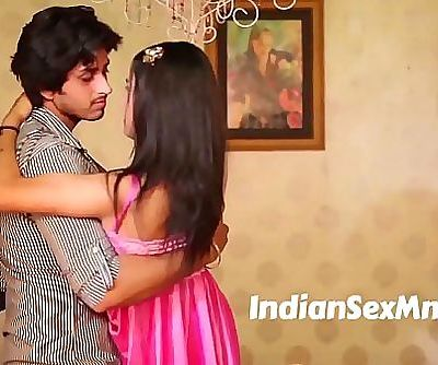 Sweet Girl Romantic Moment Scene in Bed Room 4 min 720p