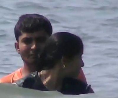 Goa bath romance - 1 min 4 sec
