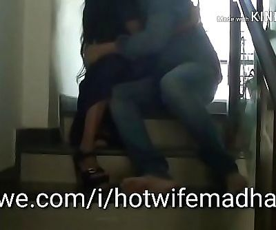 My wife Madhavi fucking in the stairwell 17 min