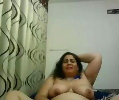 Webcam Indian Aunty dildo