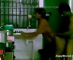 Tamil guy fucking wifes unmarried sister in kitchen