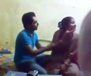 Indian desi mom fucking with his own son