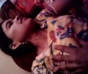 Salwar Tamil Indian Girls Boobs Press Video 4