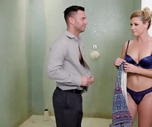 Fucking My Sons Teacher In The SpaIndia Summer 6 min